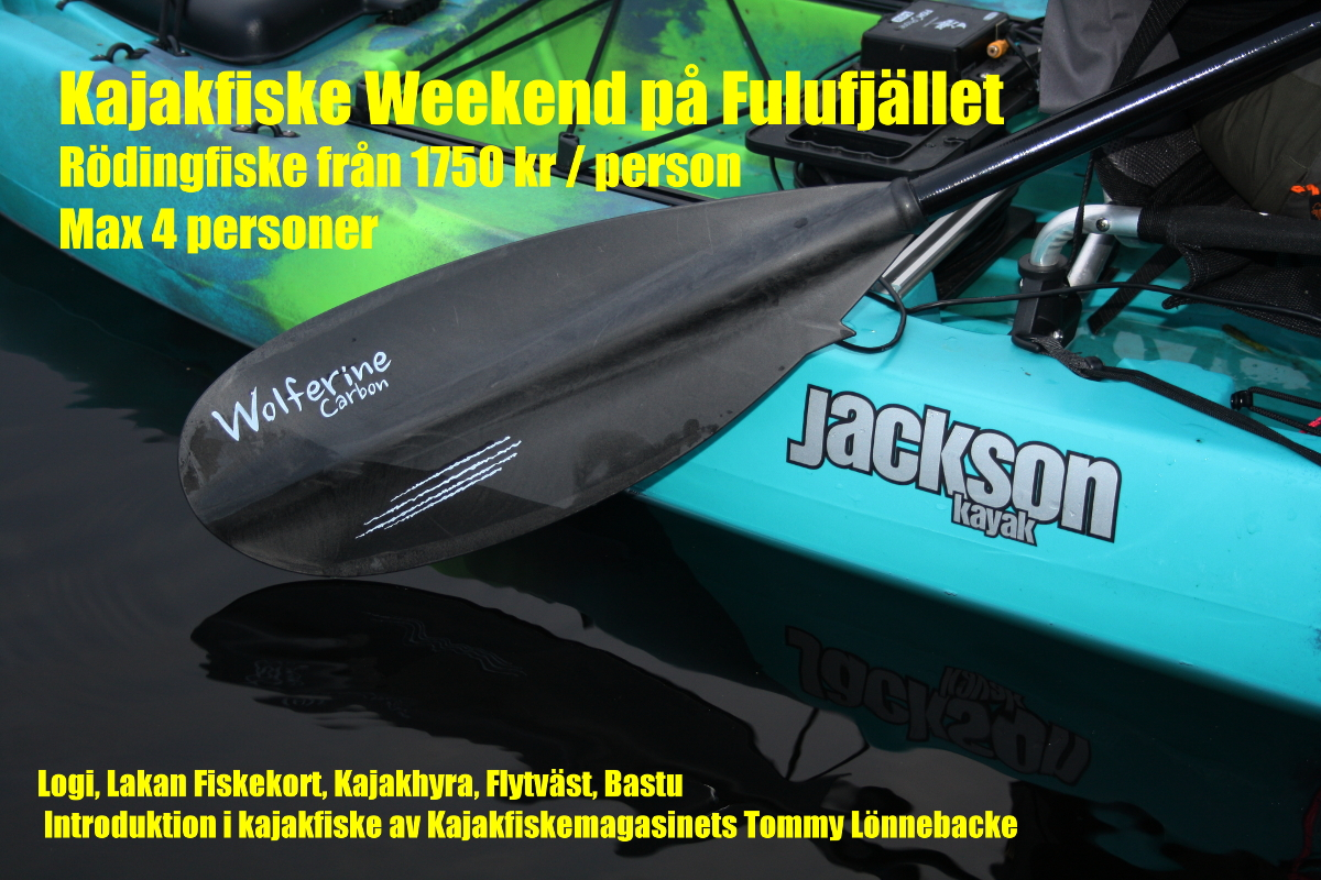 Kajakfiske weekend